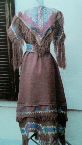Robe Amérindienne 1
